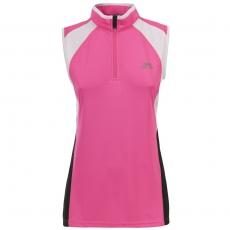Dámský rychleschnoucí sportovní top Trespass Heartrate Hi Visibility Pink