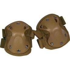 Chrániče na lokty s tvrdou skořápkou Viper Tactical Hard Shell Elbow Pads Sand