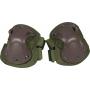 Chrániče na lokty s tvrdou skořápkou Viper Tactical Hard Shell Elbow Pads Green