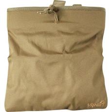 Skládací odhazovák na prázdné zásobníky Viper Tactical Folding Dump Bag / 30x25cm Coyote