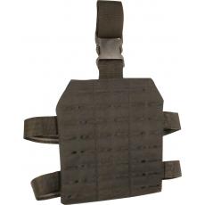 Stehenní závěs Lazer Viper Tactical Lazer Dropleg Platform / 22x25x1cm Black