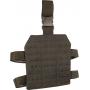 Stehenní závěs Lazer Viper Tactical Lazer Dropleg Platform (VLMDLP) / 22x25x1cm Black