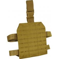 Stehenní závěs Lazer Viper Tactical Lazer Dropleg Platform / 22x25x1cm Coyote