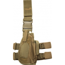 Taktické stehenní pouzdro Viper Tactical Tactical Leg Holster Coyote