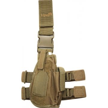 Taktické stehenní pouzdro Viper Tactical Tactical Leg Holster Coyote