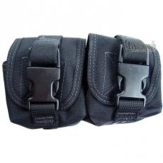Dvojité pouzdro na granát Maxpedition Double Frag Grenade Pouch Black