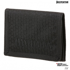 Skládací peněženka TFW AGR / 11x9 cm Black