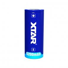 XTAR 26650 Li-Ion 5200mAh Dobíjecí, chráněné baterie