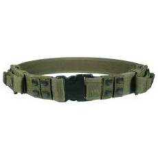 Taktický opasek PVC-B950-A UTG-Leapers Heavy Duty Elite Law Enforcement Pistol Belt OD Green