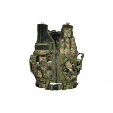 Vesta PVC-V547T UTG-Leapers Law Enforcement Tactical Vest Woodland Digital