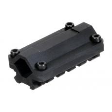 Montáž na hlaveň MNT-BR005S UTG-Leapers 13-20 mm / 1-rail / 5-slotů