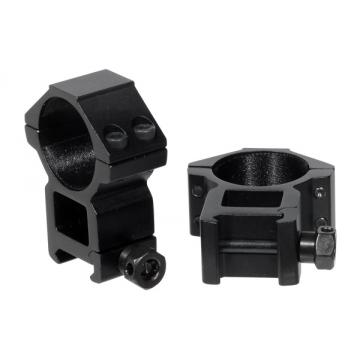 Montáž pro optiku - kroužky UTG-Leapers RGWM-30H4 Accushot High Rings (2 ks.) 30mm / 21mm