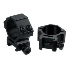 Montáž pro optiku - kroužky UTG-Leapers RGWM-30L4 Accushot Low Rings (2 ks.) 30mm / 21mm