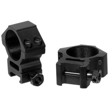 Montáž pro optiku - kroužky UTG-Leapers RGWM-30M4 Accushot Medium (2 ks.) 30mm