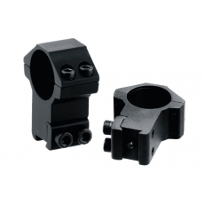 Montáž pro optiku - kroužky UTG-Leapers RGPM-25H4 Accushot High Profile Airgun Rings (2
