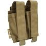 Dvojitá sumka Viper Tactical Modular Double Pistol Mag Pouch (VMPDPM22) Coyote