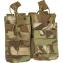 Dvě dvojité MOLLE sumky na zásobníky M4 Viper Tactical Double Duo Mag Pouch VCAM