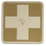 Nášivka na suchý zip Viper Tactical Medic Rubber Patches /  5x5cm