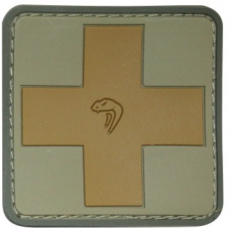 Nášivka na suchý zip Viper Tactical Medic Rubber Patches /  5x5cm