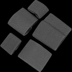 Elastická spona Viper Tactical Buckle Tidy Set Titanium