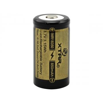 XTAR 18350 850mAh Dobíjecí baterie