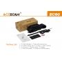 Svítilna Acebeam EC60 USB  / Studená bílá / 2000lm (1.5h) / 603m / 6 režimů / IPx8 / Včetně Li-Ion 26650 / 132gr
