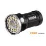Svítilna Acebeam X80  / Bílá+RGB+UV / 25000lm (1m+1.3h) / 332m / 11 režimů / IPx8 /