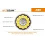 Svítilna Acebeam X80  / Studená bílá / 25000lm (1m+1.3h) / 332m / 11 režimů / IPx8 / Včetně Li-Ion 4*18650 / 330gr