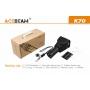 Svítilna Acebeam K70 / Studená bílá / 2600lm (2h) / 1300m / 7 režimů / IPx8 / 4* 18650 Li-Ion / 590gr