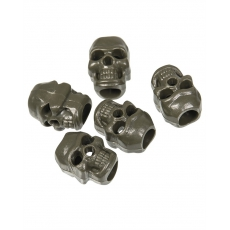 Koncovky MilTec Cord Stopper Skull (10 ks.)