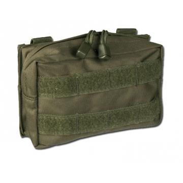 Pouzdro MilTec MOLLE Belt Pouch Small / 17x5x12cm Green