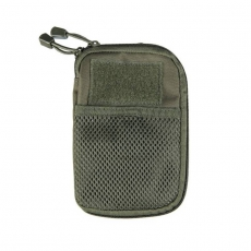 Pouzdro MilTec MOLLE Belt Office / 11x17x1.5cm Green