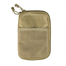 Pouzdro MilTec MOLLE Belt Office / 11x17x1.5cm Coyote