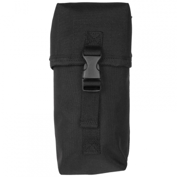 Pouzdro MilTec Small Multi purpose Belt Pouch / 10x8x21cm Black