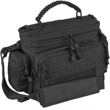 Taška MilTec Tactical Paracord Bag Small / 7L / 40x16x24cm Multitarn Black