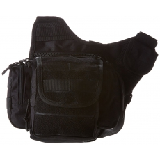 Brašna MilTec Sling Bag Multifunction / 6L / 24x20x10 cm Black