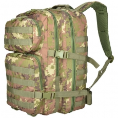 Batoh MilTec US Assault Large (140022) / 36L / 51x29x28cm Vegato Woodland
