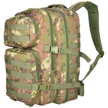 Batoh MilTec US Assault L / 36L / 51x29x28cm Vegato Woodland