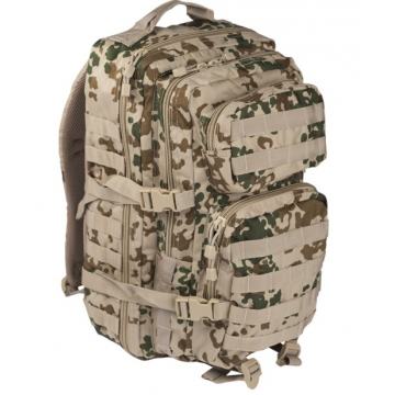 Batoh MilTec US Assault L / 36L / 51x29x28cm Tropical Camo
