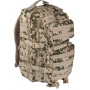 Batoh MilTec US Assault Large (140022) / 36L / 51x29x28cm Tropical Camo