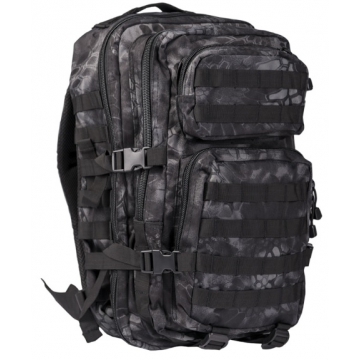 Batoh MilTec US Assault L / 36L / 51x29x28cm Mandra Night