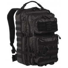 Batoh MilTec Tactical Black US Assault L / 36L / 51x29x28cm Black