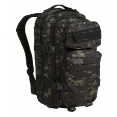 Batoh MilTec US Laser Cut Assault S / 20L / 42x20x25cm Multitarn Black