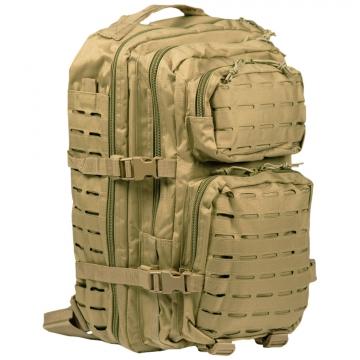 Batoh MilTec US Laser Cut Assault Large (140027) / 36L / 51x29x28cm Coyote