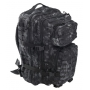Batoh MilTec US Laser Cut Assault Large (140027) / 36L / 51x29x28cm Mandra Night