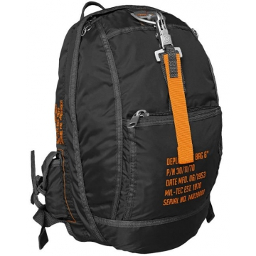 Batoh MilTec Deployment Bag 6 / 44x30x12cm Black