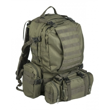 Batoh MilTec Defence Pack Assembly / 36L Mandra Night