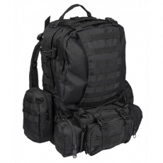 Batoh sada MilTec Defence Pack Assembly (140450) / 36L Black