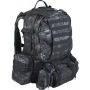 Batoh sada MilTec Defence Pack Assembly (140450) / 36L Mandra Night