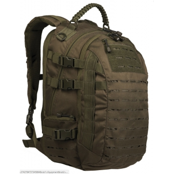 Batoh MilTec Laser Cut Mission Pack Large (140461) / 25L / 35x26x49cm Green